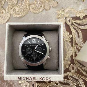 Michael Kors leather strap watch 45MM